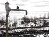 Żuraw wodny na stacji w Stoczku Łukowskim