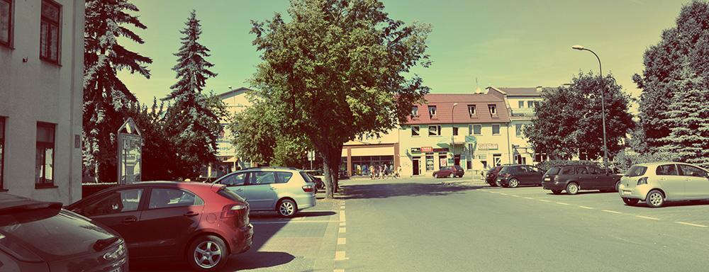 Skrzyżowanie ulicy Zdanowskiego i Staropijarskiej.