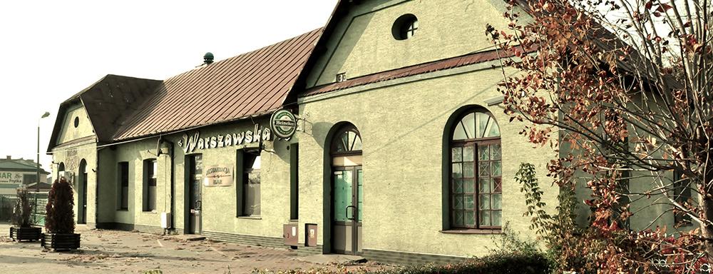 Budynek dawnej elektrowni.
