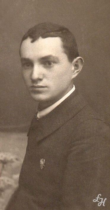 Jan Stanisław Majewski. Lata szkolne 1914-1917 r. - 28-lata-szkolne-jan-stanislaw-majewski-1914-1917lh