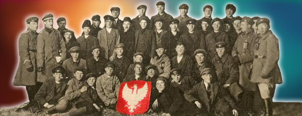 Grupa Peowiaków z powiatu łukowskiego.