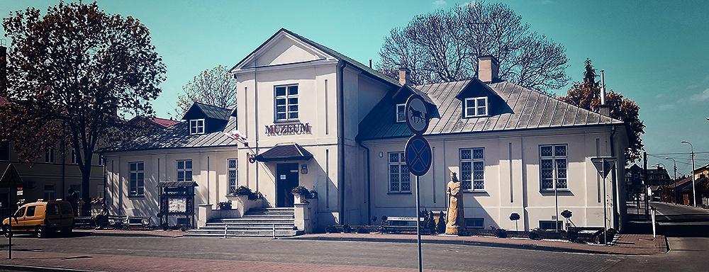 Konwikt Szaniawskich w Łukowie. Obecnie siedziba Muzeum Regionalnego.