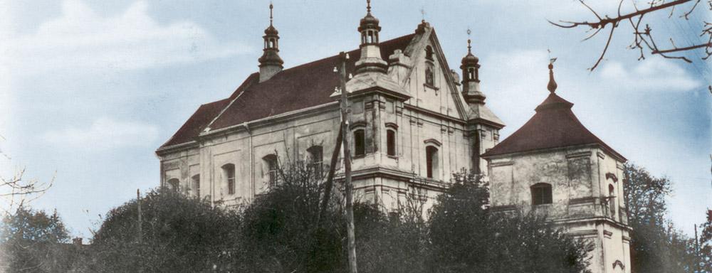 Pobernardyński kościół pw. Podwyższenia Krzyża Śwętego