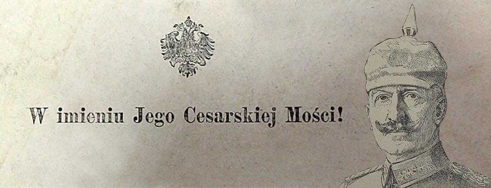 Cesarsko – Niemiecki Sąd Okręgowy w Łukowie