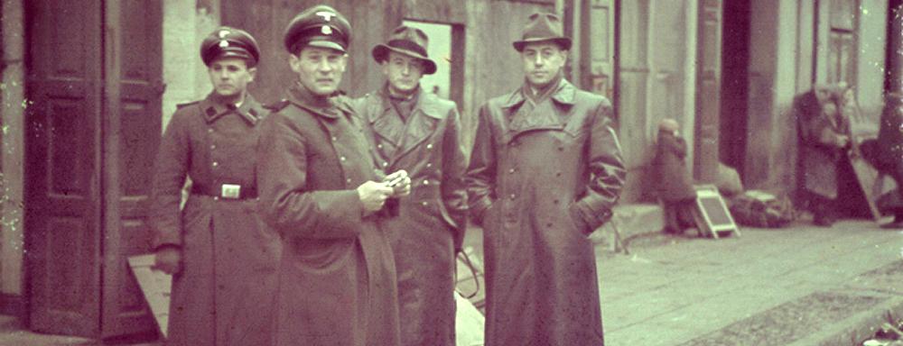 Funkcjonariusze Geheime Staatspolizei ( Gestapo )