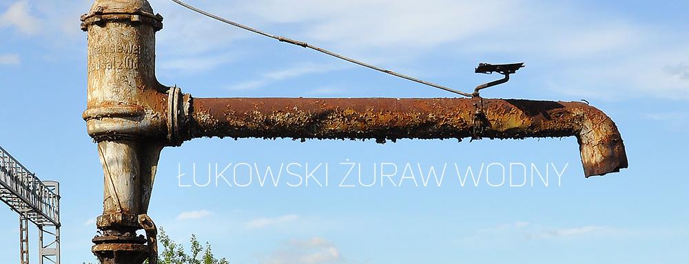 Kolejowy żuraw wodny