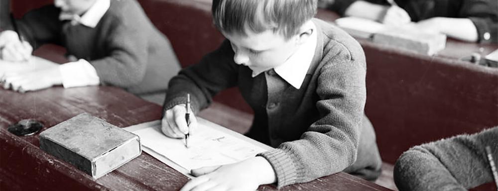 Uczniowie. 1930 r. ( Źródło: NAC )