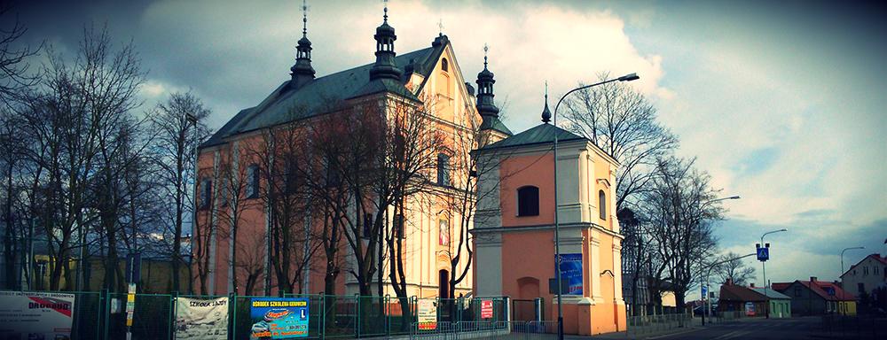 Kościół pw. Podwyższenia Krzyża Świętego w Łukowie