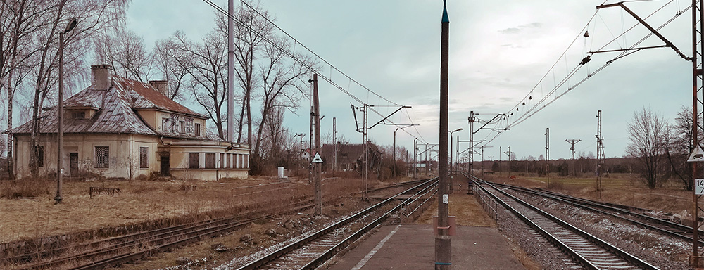 Stacja Kolejowa w Jedlance