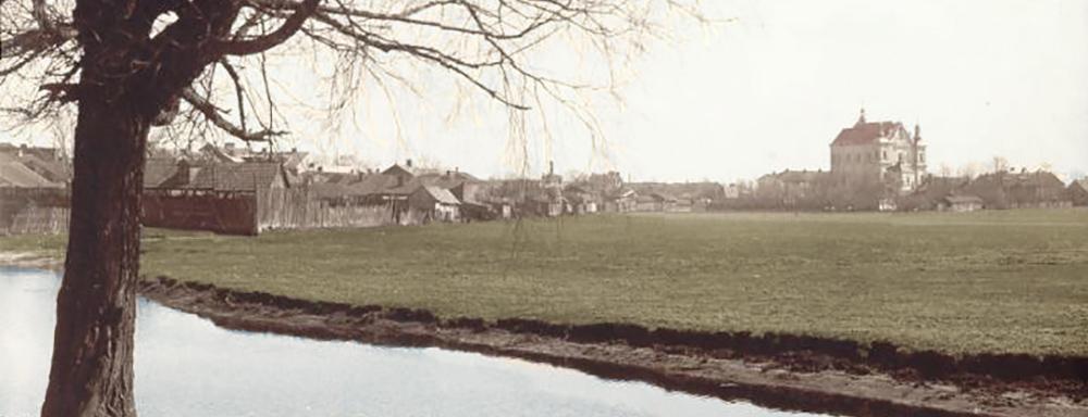 Panorama Łukowa. Widok z ulicy Warszawskiej.